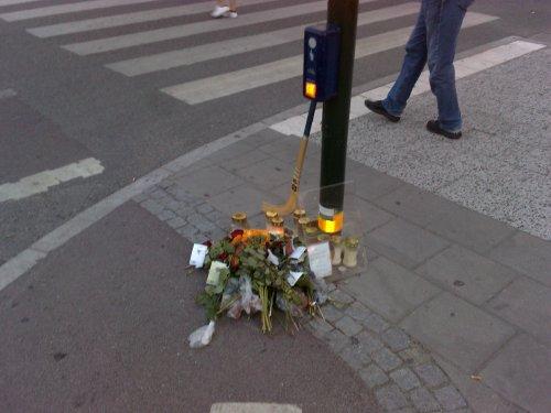 Korsningen Götgatan/Ringvägen i Stockholm
